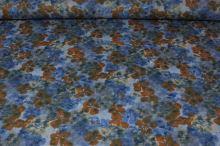 Šatovka modrá, hnědý květ, š.145