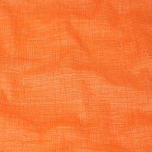 Bavlna oranžovo-bílá, š.140