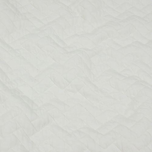 Úplet 15317 krémový, šikmé obdélníky š.155