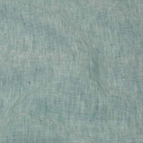 Len modrozelený melange 19011, 180g/m, š.130