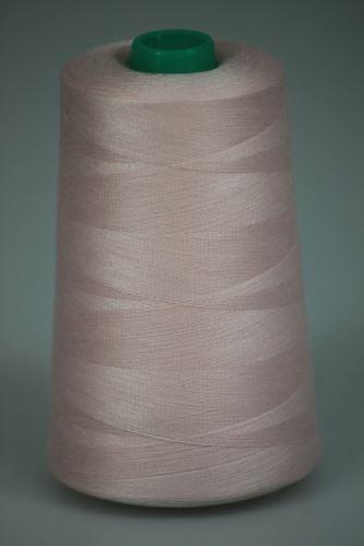 Niť KORALLI polyesterová 120, 5000, odtieň 3410, ružová
