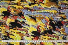 Úplet 14647, žltý vzor, š.150