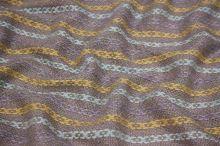 Kostýmovka růžová, vetkávaný vzor, š.135