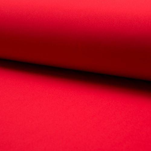Softshell červený, š.145