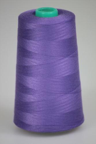 Niť KORALLI polyesterová 120, 5000Y, odtieň 4150, fialová