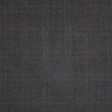 Kostýmovka černá, hnědé káro š.135