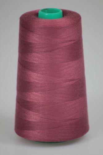 Niť KORALLI polyesterová 120, 5000Y, odtieň 3580, ružová-hnedá