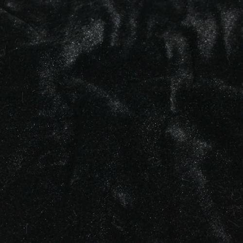 Plyš čierny, š.150