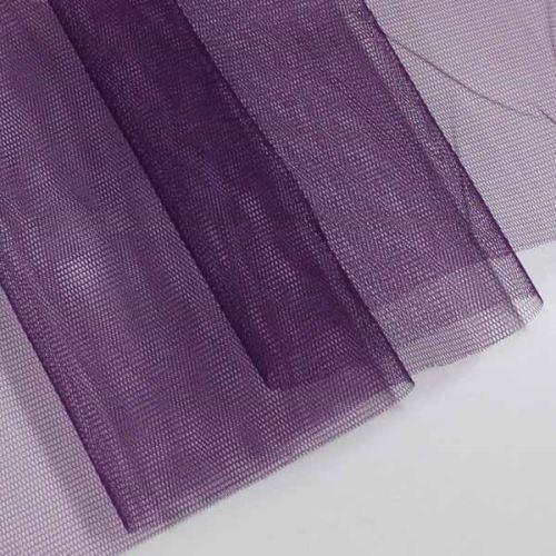 Tyl lesklý N3295, fialový š.155