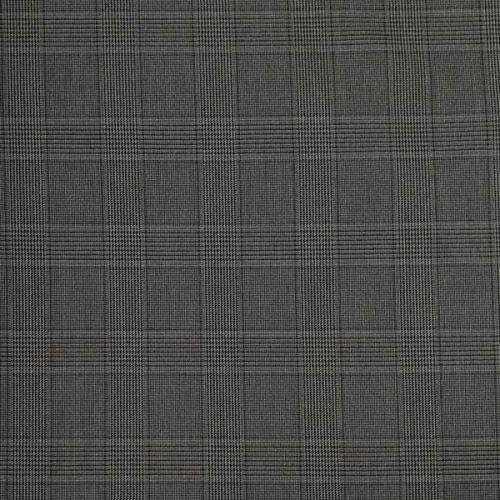 Kostýmovka šedá 11250, káro, š.145