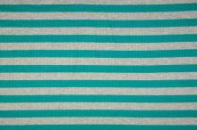 Úplet rebrový, zeleno-šedý pruh, 180g/m, š.145