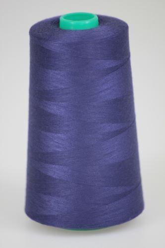 Niť KORALLI polyesterová 120, 5000Y, odtieň 4780, modrá