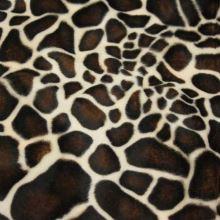 Kožušina žirafa, hnedožltý vzor, š.150