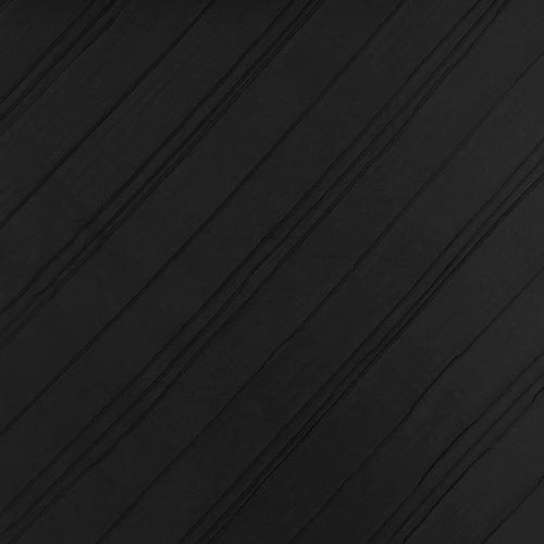 Taft 09683 čierny, šikmý pruh, š.140
