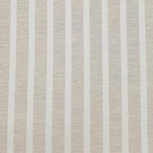 Dekoračná látka NIGHT 012B, biele pruhy, š.280