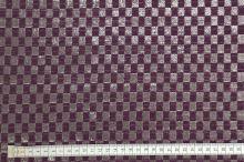 Kostýmovka 11493, fialovo-šedý vzor s leskem, š.155