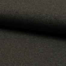 Úplet tmavosivý 18977, melé, 210g/m, š.150