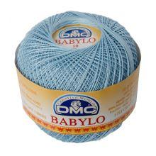 Příze Babylo 50g, síla 10, bledě modrá - odstín 800