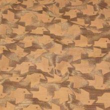 Kostýmovka oranžovozlatý vzor, š.150