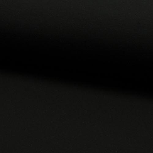 Teplákovina počesaná, černá, š.155