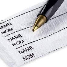 Prym 24 pratelných jmenovek + značící fix