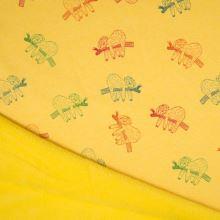 Warmkeeper žlutý, barevní lenochodi, š.145