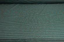 Košeľovina čierna, tyrkysovo-biely pruh š.150