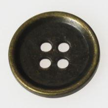 Gombík mosadz K28-6, priemer 18 mm.