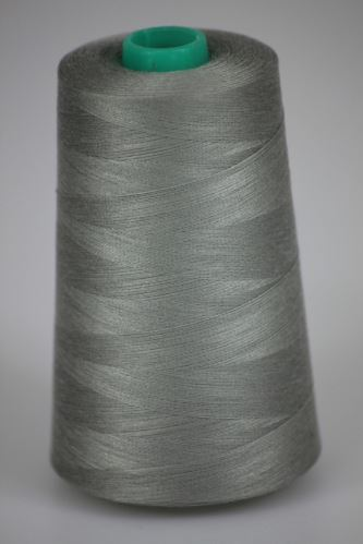 Nit KORALLI polyesterová 120, 5000Y, odstín 9140, šedá