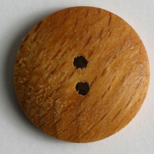 Knoflík dřevěný 201194, 13mm