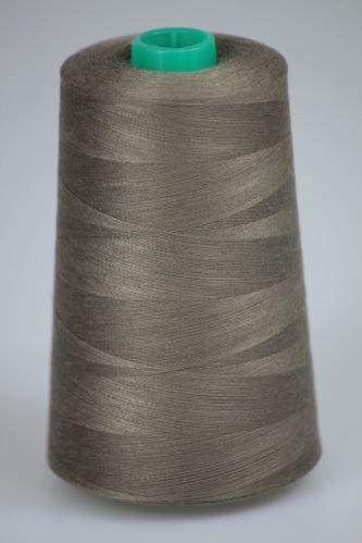 Niť KORALLI polyesterová 120, 5000, odtieň 7450, hnedá