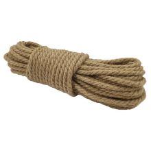 Jutový provaz režný, š.8 mm