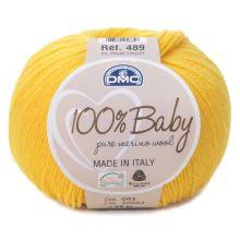 Příze 100% BABY 50g, žlutá - odstín 093