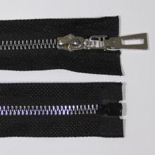 Zip kostěný 5mm délka 50cm, barva 332 (dělitelný)