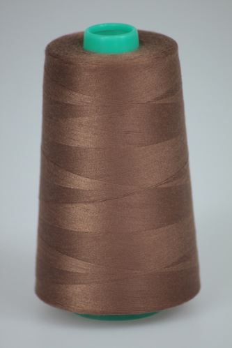 Niť KORALLI polyesterová 120, 5000, odtieň 8340, hnedá