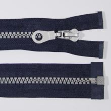 Zip kostěný 5mm délka 85cm, barva 330S (dělitelný)