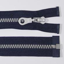 Zips kosticový 5mm dĺžka 85cm, farba 330S (deliteľný)