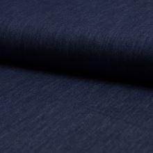Denim tmavo modrý 19744, 150g/m, š.140