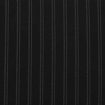 Kostýmovka černá, bílý pruh š.145
