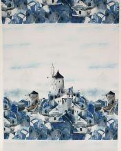 Úplet bílý, větrné mlýny, š.175