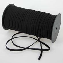 Pruženka ramínková černá, šíře 5mm