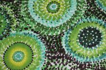 Šatovka zelenožlutá, tečkované kruhy š.145