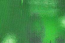 Úplet 09844 zelený, disko vzor, š.100