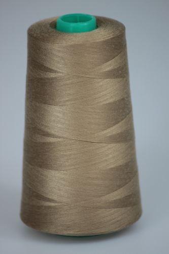 Nit KORALLI polyesterová 120, 5000Y, odstín 7230, béžová
