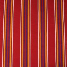 Lehátkovina červená, farebný pruh, š.140