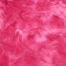 Teplákovina, ružová batika s plyšom, š.155
