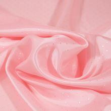 Podšívka světle růžová, drobný puntík, š.150