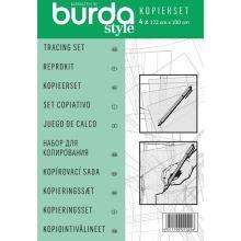 Kopírovacie sada Burda, 122x100 cm, 4ks