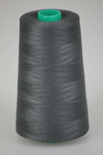Niť KORALLI polyesterová 120, 5000Y, odtieň 9460, šedá