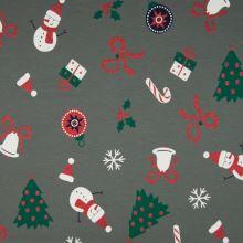 Úplet šedý, vánoční dárky, š.145